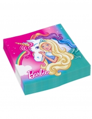 20 Papieren servetten Barbie Dreamtopia™