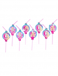 8 Barbie Dreamtopia™ rietjes