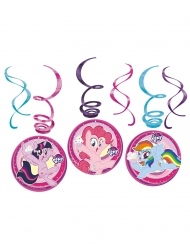 6 My Little Pony™ spiraaldecoraties