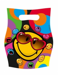 6 cadeau tasjes Smiley World™