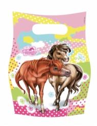 6 cadeau tasjes Charming Horses