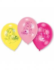 6 ballonnen Charming Horses