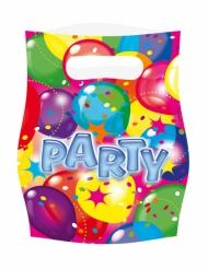 6 Party cadeauzakjes