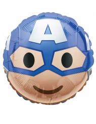 Captain America™ Emoji™ aluminium ballon