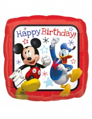 Vierkante aluminiumballon Mickey™