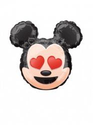 Kleine aluminium Mickey Emoji™ ballon