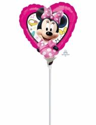 Kleine aluminium Minnie™ hart ballon