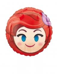 Kleine aluminium Ariel Emoji™ ballon