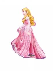 Kleine aluminium Prinses Aurora™ ballon