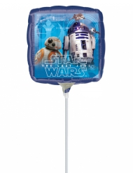 Kleine vierkante aluminium ballon Star Wars™