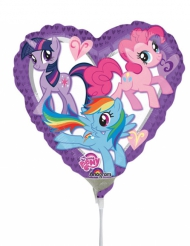 Aluminium My Little Pony™ hart ballon