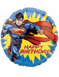 Happy Birthday Superman™ ballon