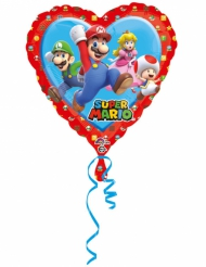 Aluminium ballon hart Super Mario™
