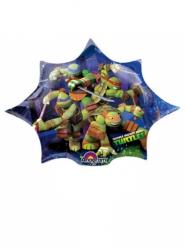 Kleine aluminium Ninja Turtles™ ster ballon