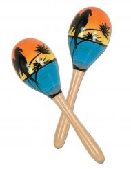 2 tropische sambaballen