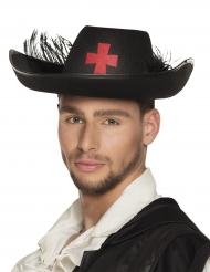 Musketier hoed voor volwassenen