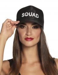 Zwarte Squad pet voor volwassenen