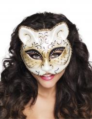Venetiaans kat masker voor vrouwen