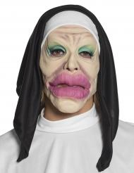 Grappig latex religieus masker voor volwassenen