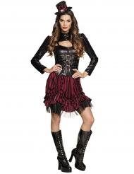 Mrs. Steampunk kostuum voor dames