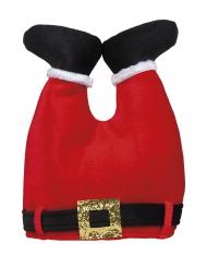 Kerstman broek hoed voor volwassenen