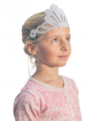 6 glitter zeemeermin tiara