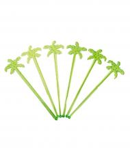 12 groene palmboom cocktail shakers