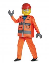 Deluxe Lego® bouwvakker kostuum voor kinderen