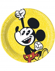 8 kleine kartonnen Mickey™ borden
