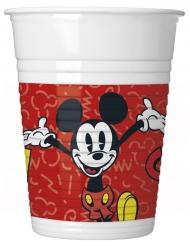 8 retro Mickey™ bekers