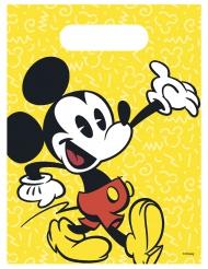 6 retro Mickey™ feestzakjes