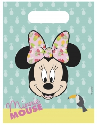 6 Tropical Minnie™ cadeauzakjes
