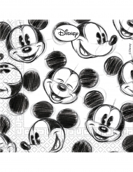 25 retro Mickey™ servetten