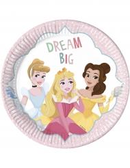 8 kartonnen Disney Princesses™ borden