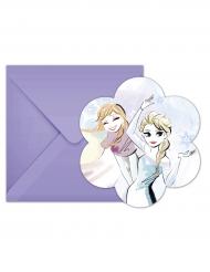 6 Frozen™ uitnodigingen