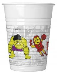 8 plastic Avengers™ bekers