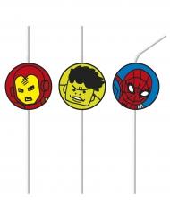 6 Avengers™ rietjes