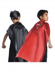 Omkeerbare cape Batman™ en Superman™ voor kinderen