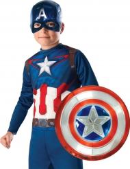 Captain America™ schild en masker set voor kinderen