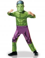 Klassiek Hulk™ animatieserie kostuum voor jongens