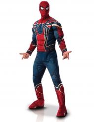 Luxe gespierd Iron Spider Infinity War™ kostuum voor volwassenen