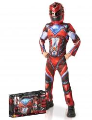 Luxe rode Power Rangers™ kostuum box voor kinderen