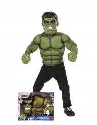 Gevoerd Hulk™ kostuum met masker voor jongens