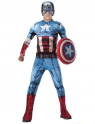 Deluxe Captain America Avengers™ kostuum voor jongens