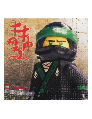 20 papieren servetten Lego Ninjago™