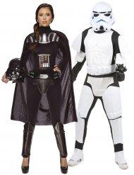 Koppelkostuum Star Wars™ Darth Vader en Stormtrooper
