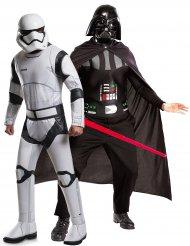 Koppelkostuum Darth Vader™ en Stormtrooper™