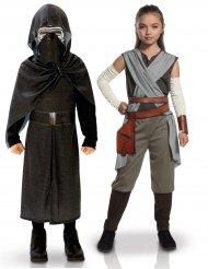 Star Wars™ Kylo Ren en Rey kostuums voor kinderen