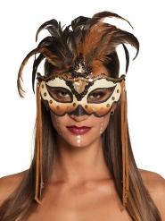 Voodoo samba masker voor volwassenen