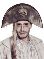 Spook piraat hoed voor volwassenen